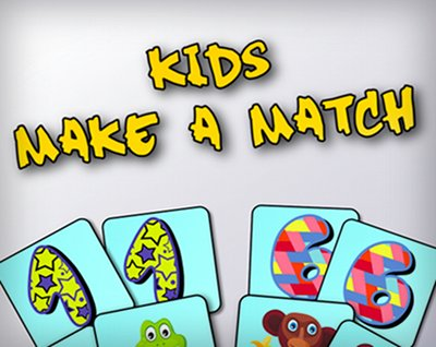 Kids Make a Match Game